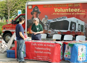 Arcola Fire Department Volunteers.