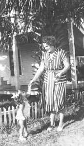 Debbie and Grandma Dora, Tybee Island