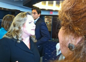 Kathleen Turner shares some advice with me.
