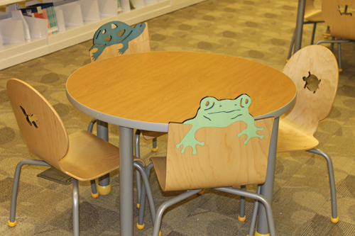 "Everything is ""to scale"" for the littlest readers - even the adorable furniture."