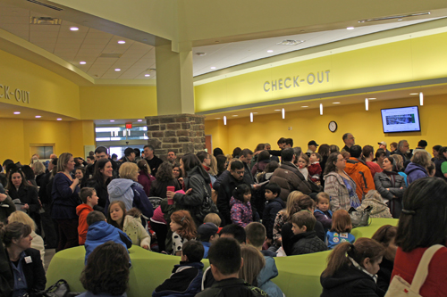 A record-setting crowd attended the Grand Opening of the new Gum Spring Library.